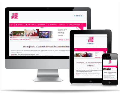 Identipack Sites Web Responsive